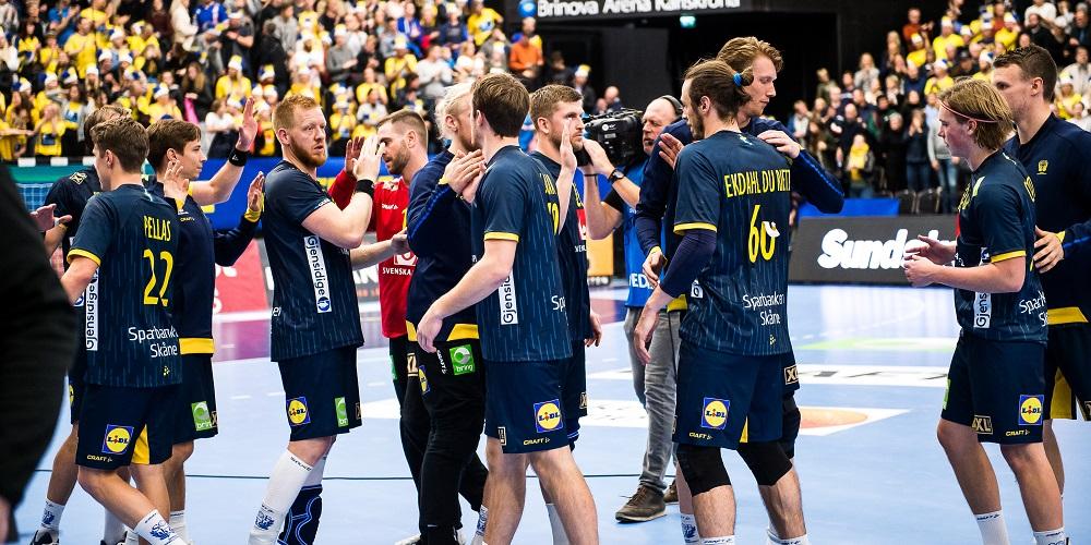 Sverige firar seger