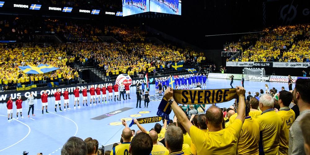 Handbolls VM 2019 Sverige-Ungern