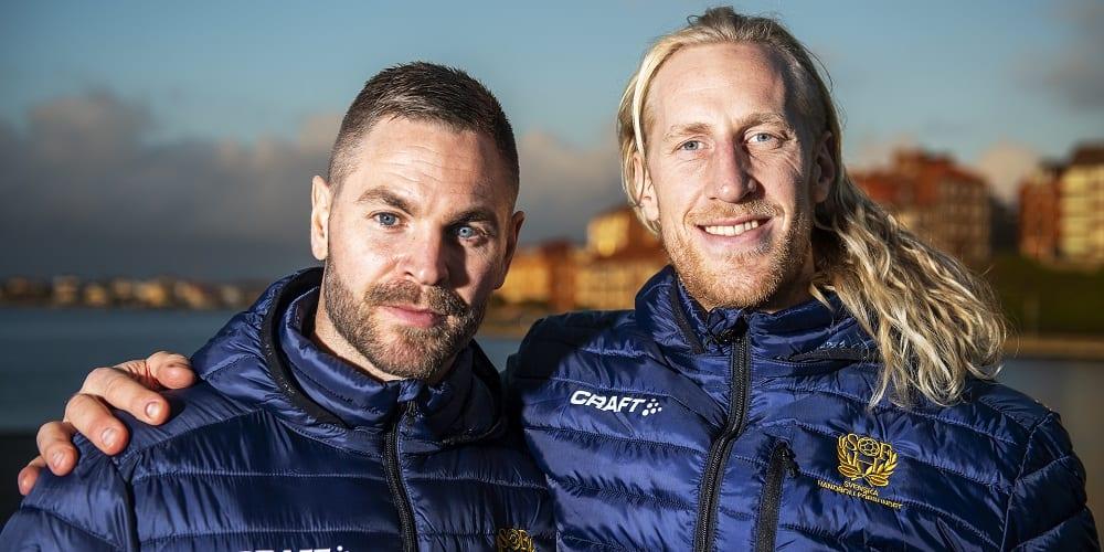 Andreas Palicka och Mikael Appelgren