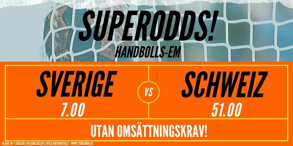 888SPORT SUPERODDS handboll