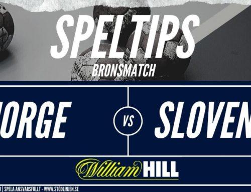 Speltips: 25/1 | Bronsmatch | Norge – Slovenien