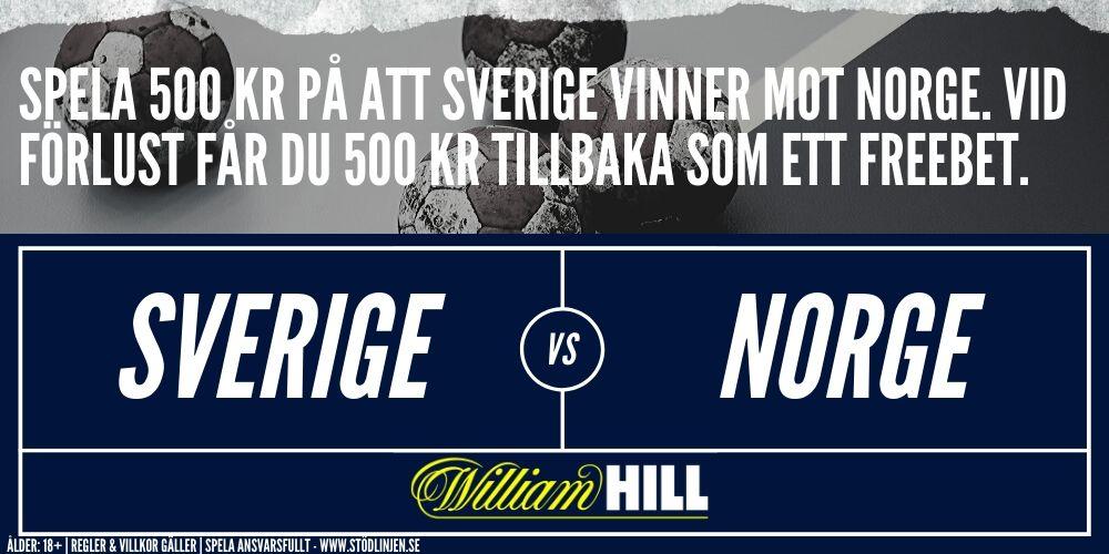 Handbolls EM William Hill freebet