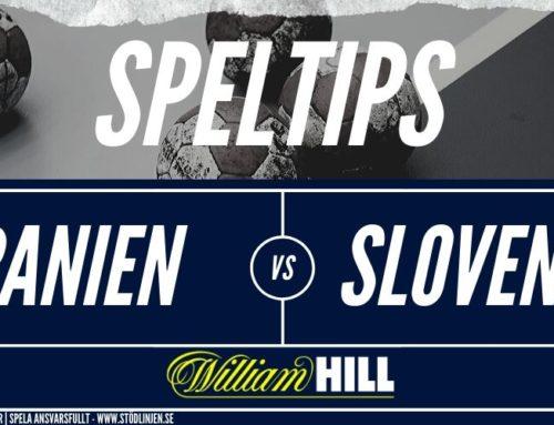 Speltips: Spanien – Slovenien 24/1