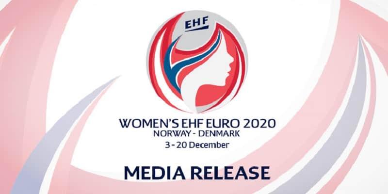 Loggan för damernas Handbolls EM 2020