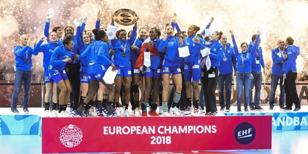 Frankrike vinner damernas EM 2018