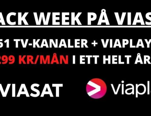 Black Week på Viasat