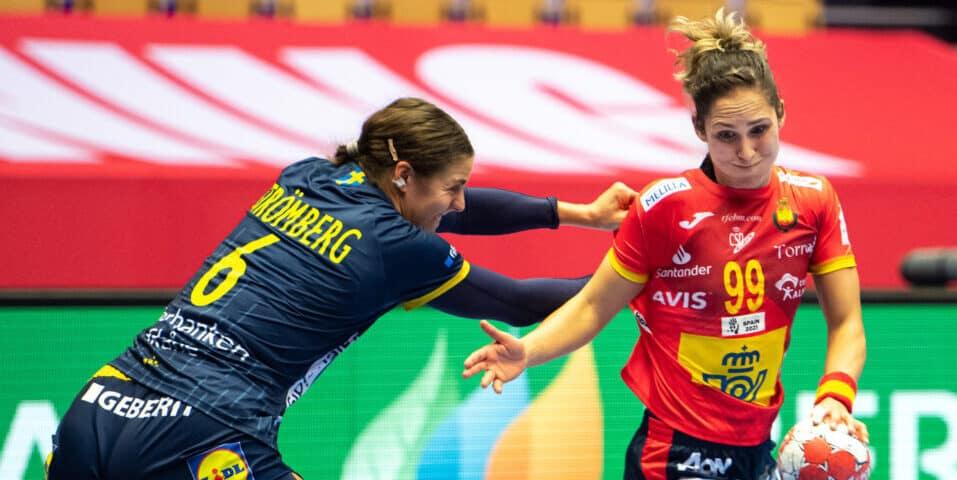 Sverige-Spanien dam EM 2020