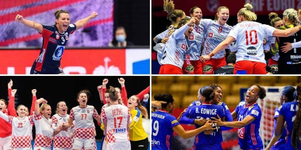 Semifinallag dam EM 2020