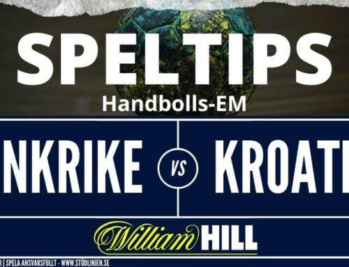 SPELTIPS 18/12: Handbolls-EM Semifinal | Frankrike – Kroatien